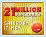 jackpot de 21 millones en la Saturday Lotto de Australia
