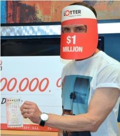 segundo premio de $ 1 millón ganado el 19 de octubre de 2016