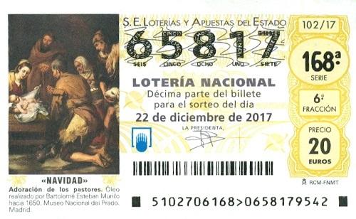 Lotería de Navidad 2.017