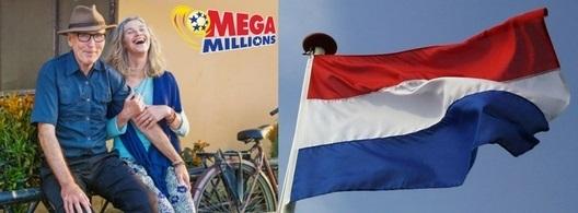Jugador holandés gana $15,000 en Mega Millions